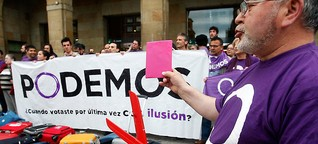 Podemos & Co: Spaniens neue Linke