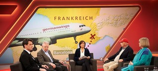 TV-Kritik: Maischberger zu Germanwings-Flug 4U9525