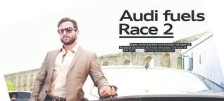 Audi fuels Race 2 / Audi Magazin Indien / 2013
