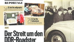 Der Streit um den ersten Roadster der DDR