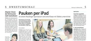 Pauken per iPad