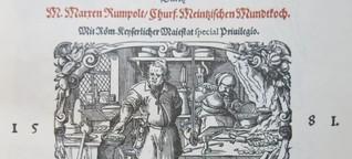 Gebratener Igel und Adlerpastete - Fundstücke aus einem Kochbuch aus der Renaissance