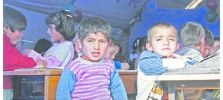"""Flüchtlingslager bei Kobane: """"Jeder Mensch ist verpflichtet uns zu helfen"""""""