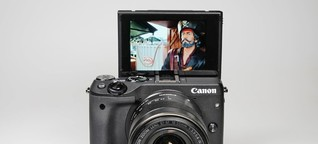 """Canon EOS M3 im Test: Systemkamera mit """"Selfie«-Monitor - SPIEGEL ONLINE"""