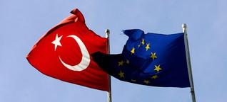 Das trennt die Türkei noch von der EU-Mitgliedschaft