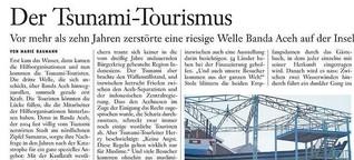 Der Tsunami-Tourismus