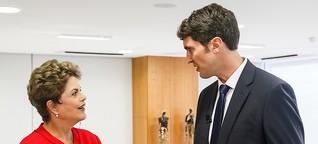 Exklusiv-Fernsehinterview mit der brasilianischen Präsidentin Dilma Rousseff | DW | 09.06.2015