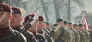 """""""Litauisch-Polnisch-Ukrainische""""-Brigade: Ein gefährliches Experiment?"""