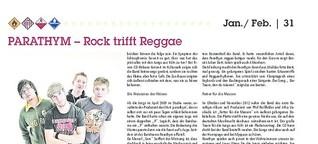 PARATHYM - Rock trifft Reggae