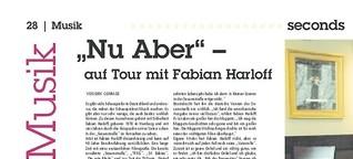 Nu Aber - Auf Tour mit Fabian Harloff