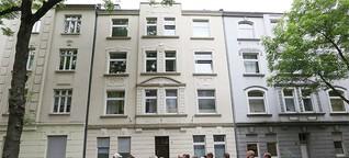 """Quartiersspaziergang des Netzwerks IdEE Nordstadt zeigt Häuser in unterschiedlichen """"Aggregat-Zuständen"""""""