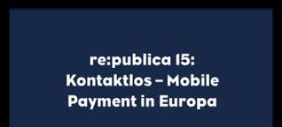 Kontaktlos - Mobile Payment in Europa