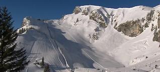 Gefahr Sessellift: In Bayerns Skigebieten will Sitzenbleiben gelernt sein | BR.de