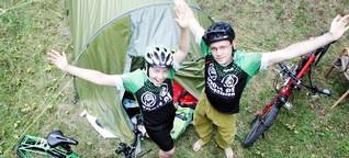 Zwischenstopp in Bonn: 24.000 Kilometer-Trip! Pärchen radelt nach Bangkok
