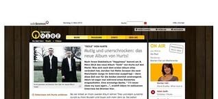 """Bremen Vier - Albumkritik von Hurts """"Exile"""""""