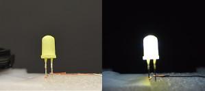 Ohne Seltene Erden: Neues Rezept für weiße Leuchtdioden