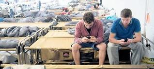 Störerhaftung: Kontaktsperre für Flüchtlinge
