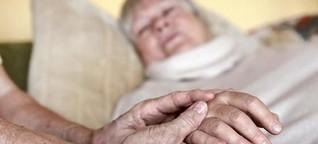 Erschöpfte Helfer - Pflege fordert Körper und Seele