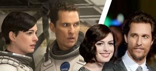 BILD traf Matthew McConaughey und Anne Hathaway: Zwei Hollywood-Beaus auf Weltraum-Mission