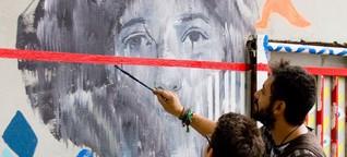 Streetart Workshop mit Ammar Abo Bakr - Künstler aus Ägypten