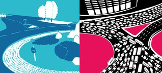 Karawane, zieh weiter : Glanzlicht vs. Schlusslicht, Teil 2: die Staustatistik