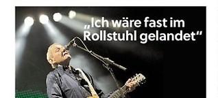"Wolfgang Ambros: ""Ich wäre fast im Rollstuhl gelandet"""