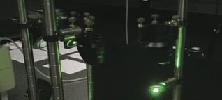Kondensiertes Licht