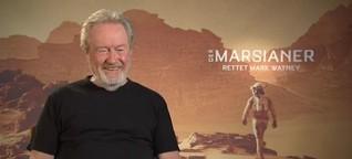 Ridley Scott als Weltraumtourist?- Der Regisseur im Gespräch