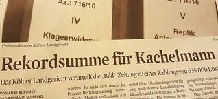 "Jörg Kachelmann erstreitet Rekordsumme von ""Bild"""