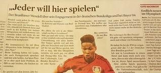 """""""Jeder will hier in Deutschland spielen"""""""
