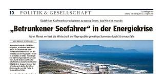 Südafrika in der Energiekrise