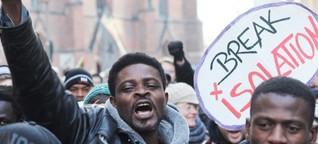Hamburg ist immer noch kein Paradies für Flüchtlinge