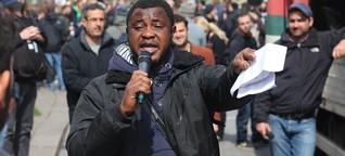 Flüchtlinge in Hamburg: Lampedusa ist weit, weit weg