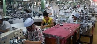 Textilindustrie: Nähen für 80 Euro im Monat