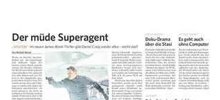 Bergedorfer Zeitung   Filmkritik: James Bond 007 - Spectre