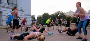 Frühsport-Massenbewegung: Morgens halb sieben in Amerika
