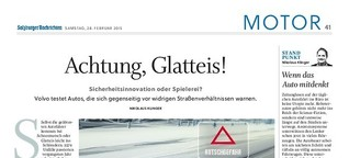 Achtung, Glatteis!