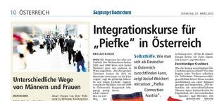 """Integrationskurse für """"Piefke"""" in Österreich"""