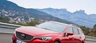AZ-Test Mazda6 Kombi: Von wegen Mittelklasse - Abendzeitung München