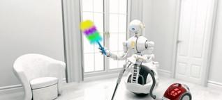 Hausarbeit? Wird künftig von Robotern erledigt