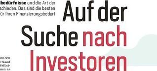 Auf der Suche nach Investoren