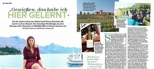 Neustart als Weindozentin in Neuseeland - Myway 7/2015