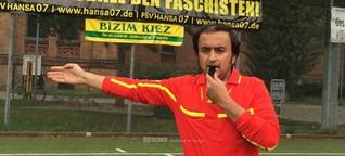 Afghanischer Flüchtling wird deutscher Schiedsrichter