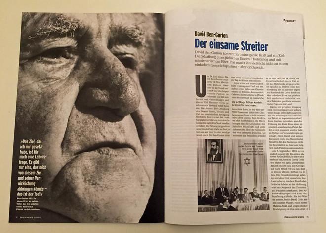 David Ben-Gurion: Der einsame Streiter