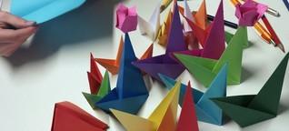 Falten für die Zukunft - Origami in Industrie und Forschung