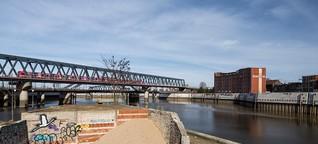 Gentrifizierung: Arm – und direkt an Elbe und Bille