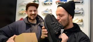 Sammlerstücke Sneaker: Schuhe so selten wie ein Lottogewinn