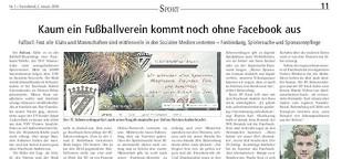 Kaum ein Klub kommt ohne Facebook aus