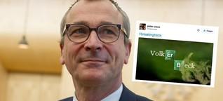 Volker Beck und das Mettbrötchen: Wie das Netz auf den Drogen-Fund reagiert