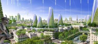 So grün könnte Paris eines Tages aussehen